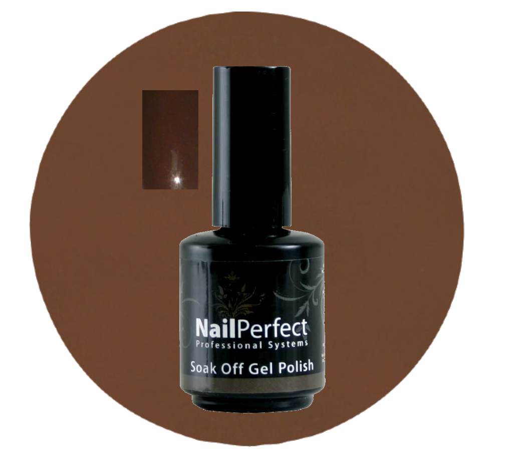 NailPerfect Soak Off Gellak 013 Brownish Eyes 15ml