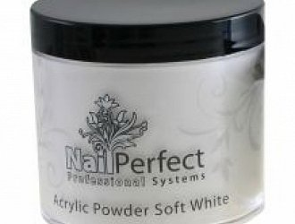 NAIL PERFECT PREMIUM ACRYLIC POWDER SOFT WHITE 100 GR