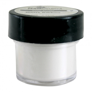NAIL PERFECT PREMIUM ACRYLIC COLOR POWDER 001 WHITE RIBBON 10GR