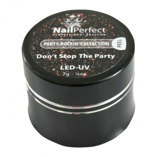 LED/UV gel Dont Stop The Party 7gr
