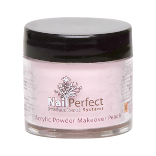 NAIL PERFECT PREMIUM ACRYLIC POWDER MAKEOVER PEACH 25GR