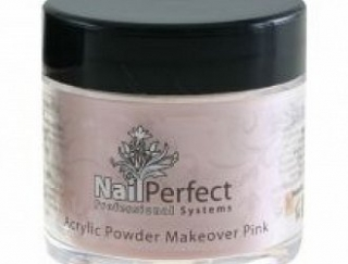 NAIL PERFECT PREMIUM ACRYLIC POWDER MAKEOVER PINK 25GR